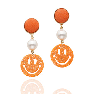 [Season] Nature Ramie Funny Halloween Earrings